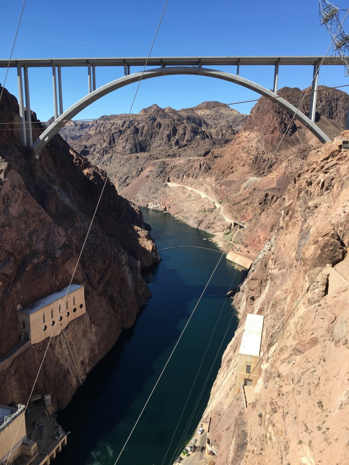 Arch bridge spanning the Colorado River
