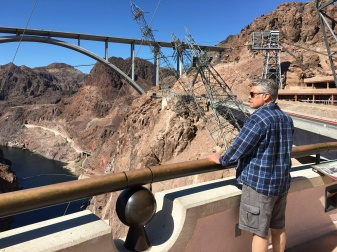 Leaning Transmission Towers at Hoover Dam