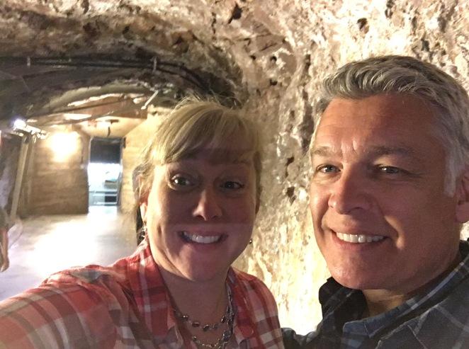 Exploring deep in Hoover Dam