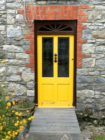 Friendly door of welcome