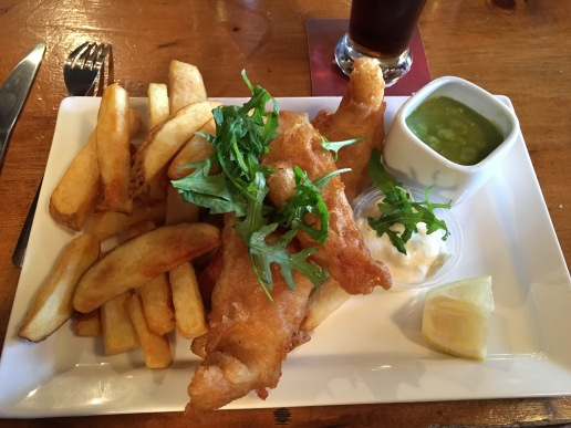 Our first fish & chips